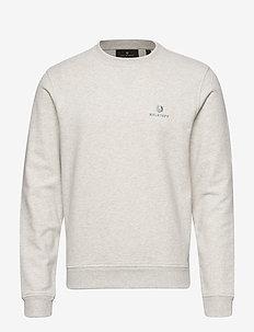 BELSTAFF SWEATSHIRT - swetry - heather grey melange