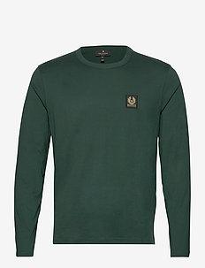 BELSTAFF L/S T-SHIRT - basis-t-skjorter - pine