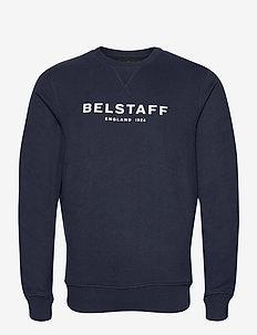 BELSTAFF 1924 SWEATSHIRT - overdeler - navy/off white