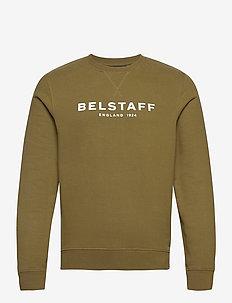 BELSTAFF 1924 SWEATSHIRT - overdeler - salvia/off white