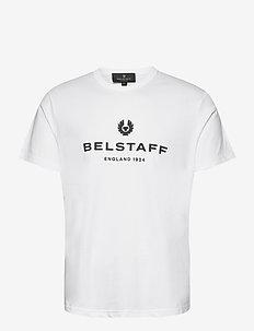 BELSTAFF 1924 T-SHIRT - kortermede t-skjorter - white