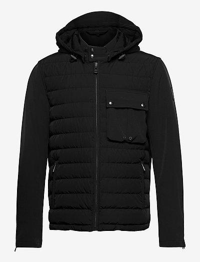 WING HIBRID JACKET - vestes matelassées - black