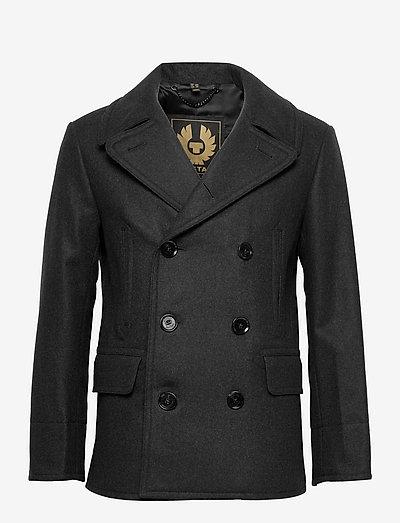 NAVAL PEACOAT - vestes légères use default - dark charcoal melange