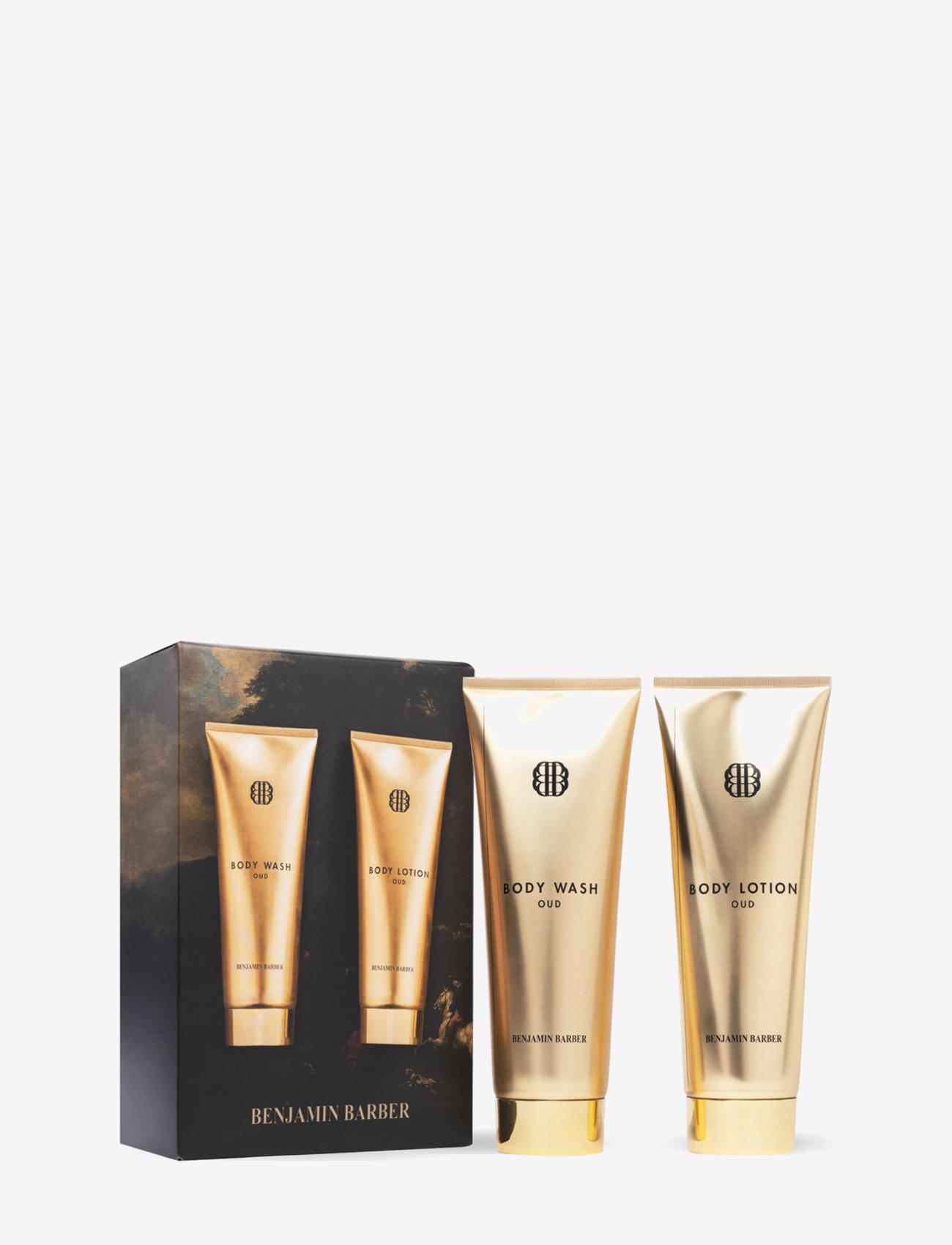 Benjamin Barber - Benjamin Barber Gift Set Oud Body Duo - presentaskar - clear - 0