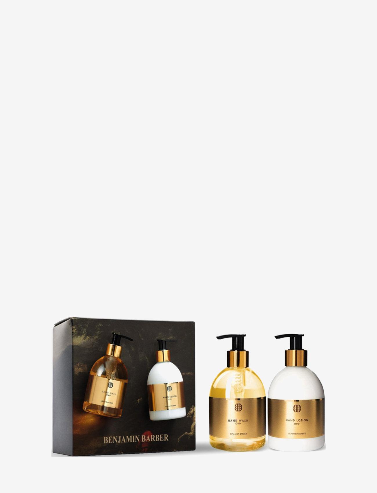 Benjamin Barber - Benjamin Barber Gift Set Oud Hand Duo - presentaskar - clear - 0