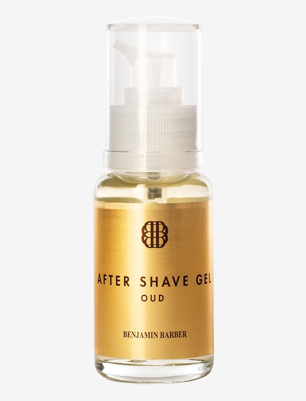 Benjamin Barber - Benjamin Barber After Shave gel Oud - after shave - no colour
