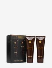 Benjamin Barber - Benjamin Barber Gift Set Black Oak Body Duo - presentaskar - clear - 0