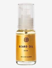 Benjamin Barber - Benjamin Barber Beard Oil Oud - skægolie - no colour - 0
