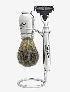 Benjamin Barber Nobel 3-piece shavingset - CHROME