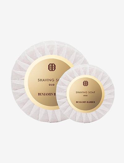 Benjamin Barber Shaving Soap Oud - parranajogeeli - no color