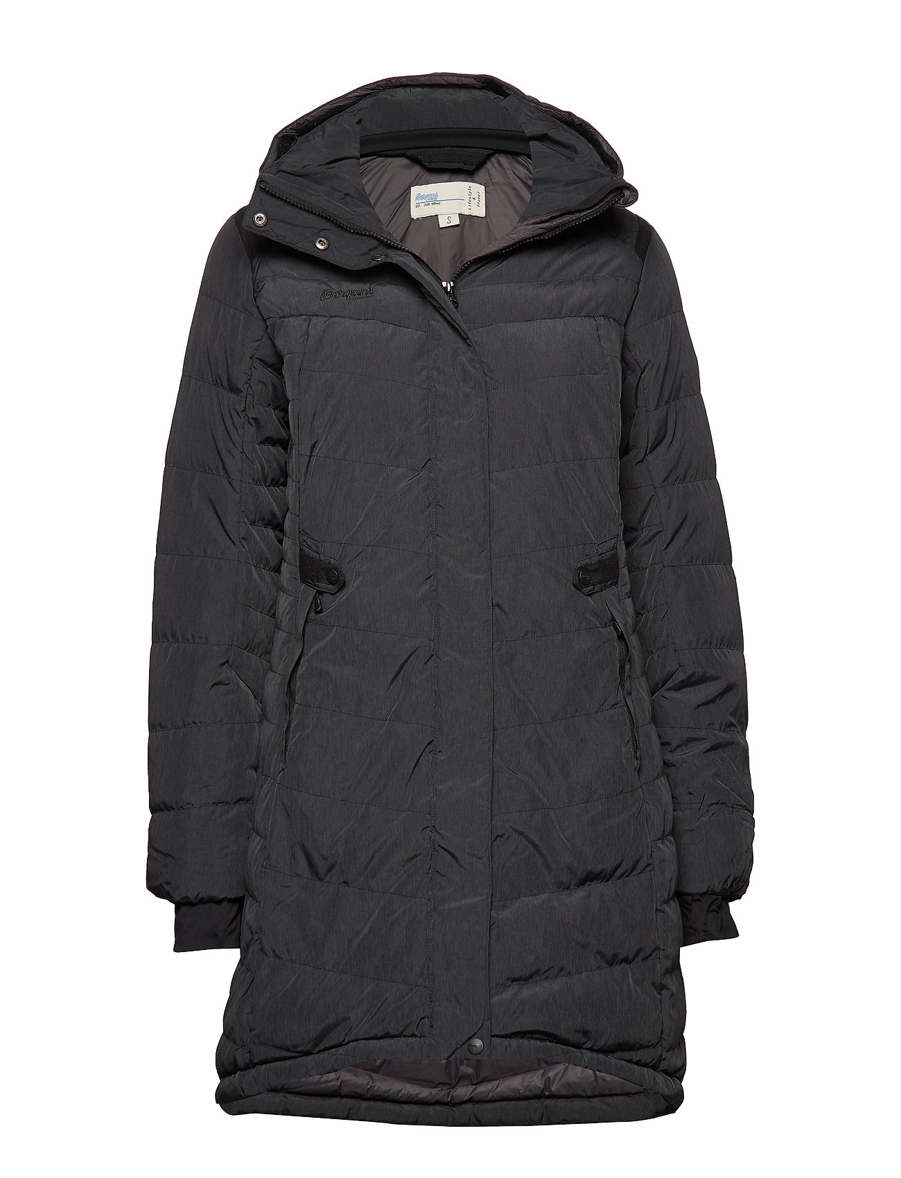 Bergans Down Lady Parka - BLACK MEL