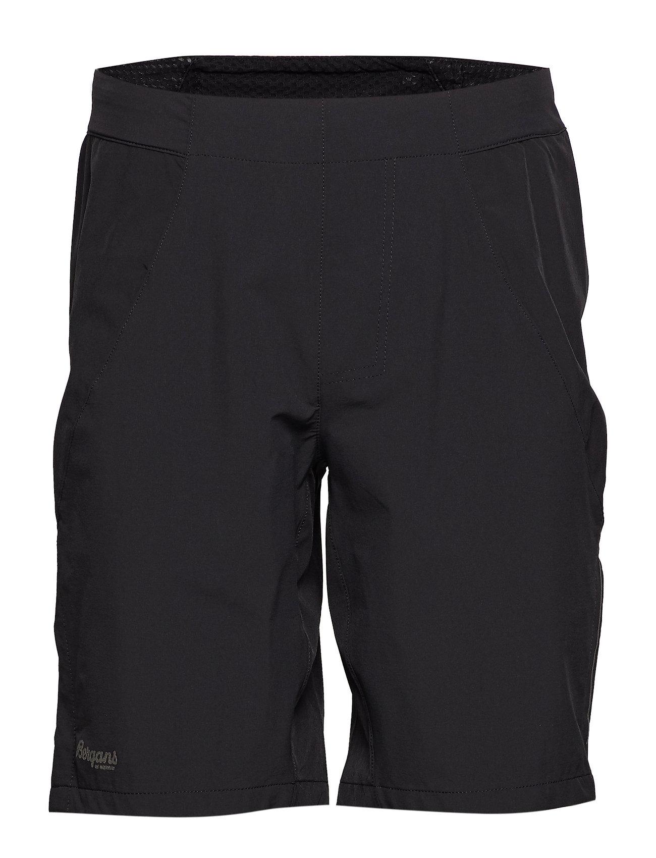 Bergans Flyen Shorts - BLACK/SOLIDCHARCOAL