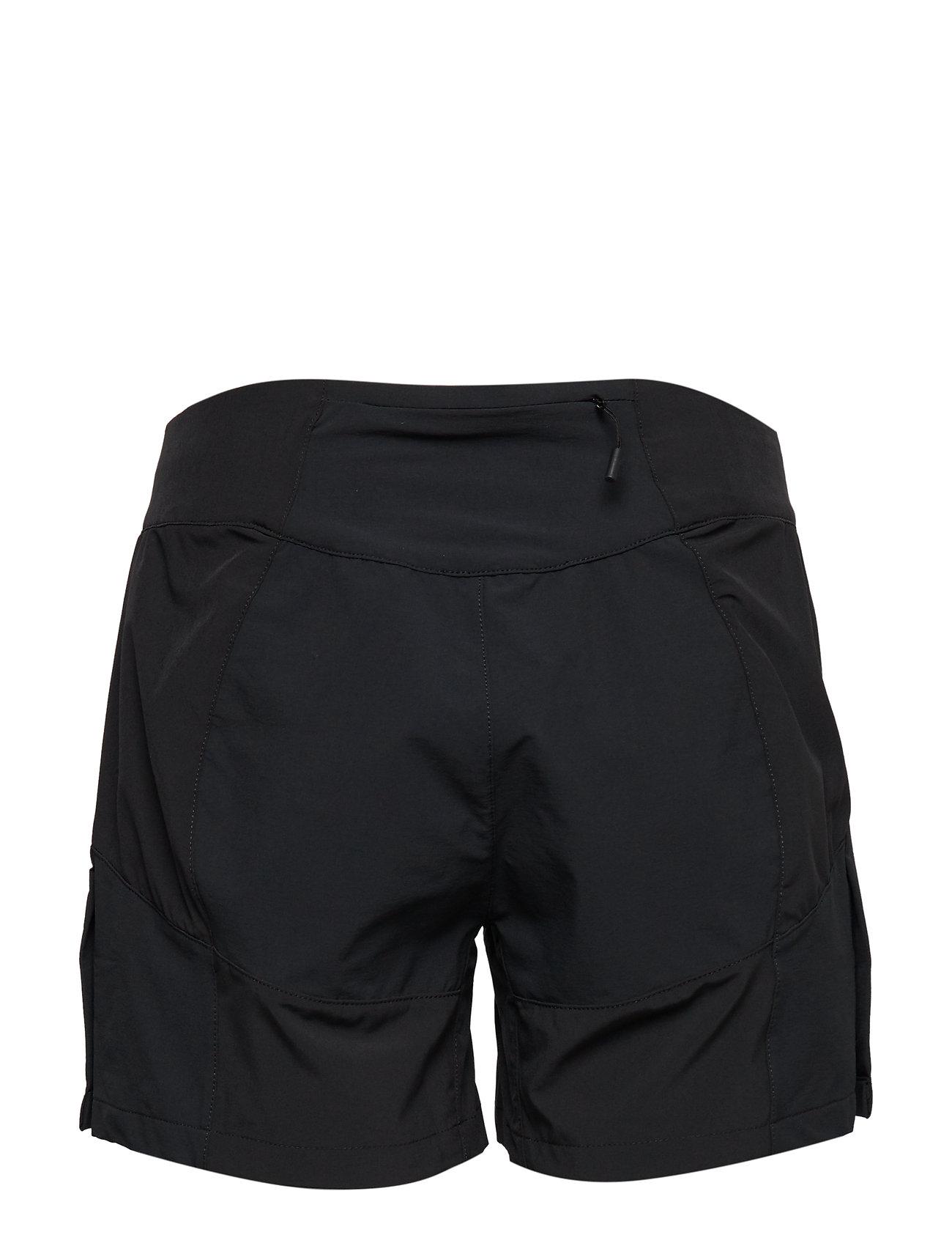 68f68f28 BLACK/SOLIDCHARCOAL Bergans FløYen W Shorts shorts for dame - Pashion.dk