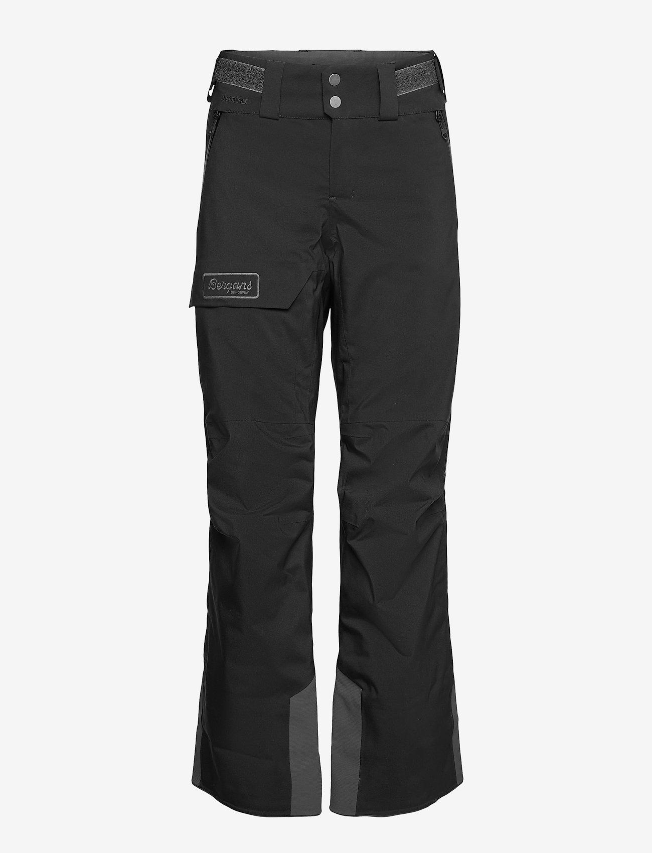Bergans - Myrkdalen V2 Insulated W Pnt - skibroeken - black/solidcharcoal - 0