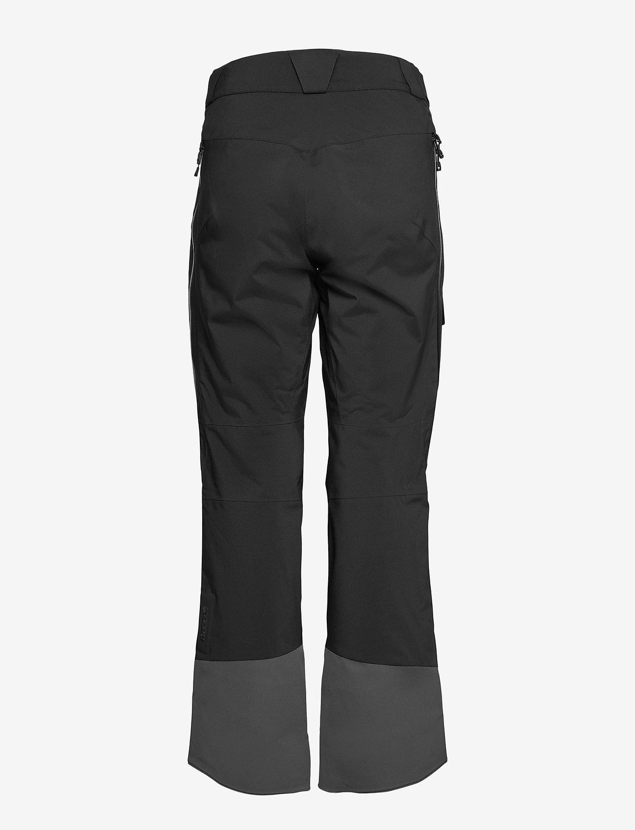 Bergans - Myrkdalen V2 Insulated W Pnt - skibroeken - black/solidcharcoal - 1