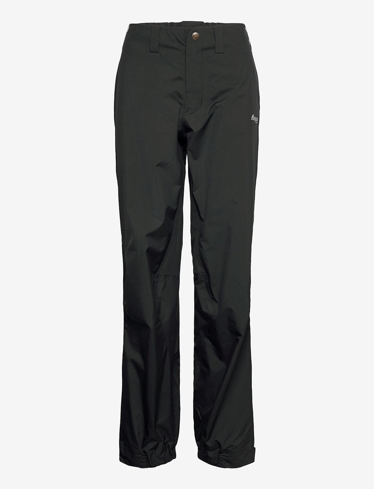 Bergans - Letto LongZip W Pnt - pantalon de randonnée - black - 0
