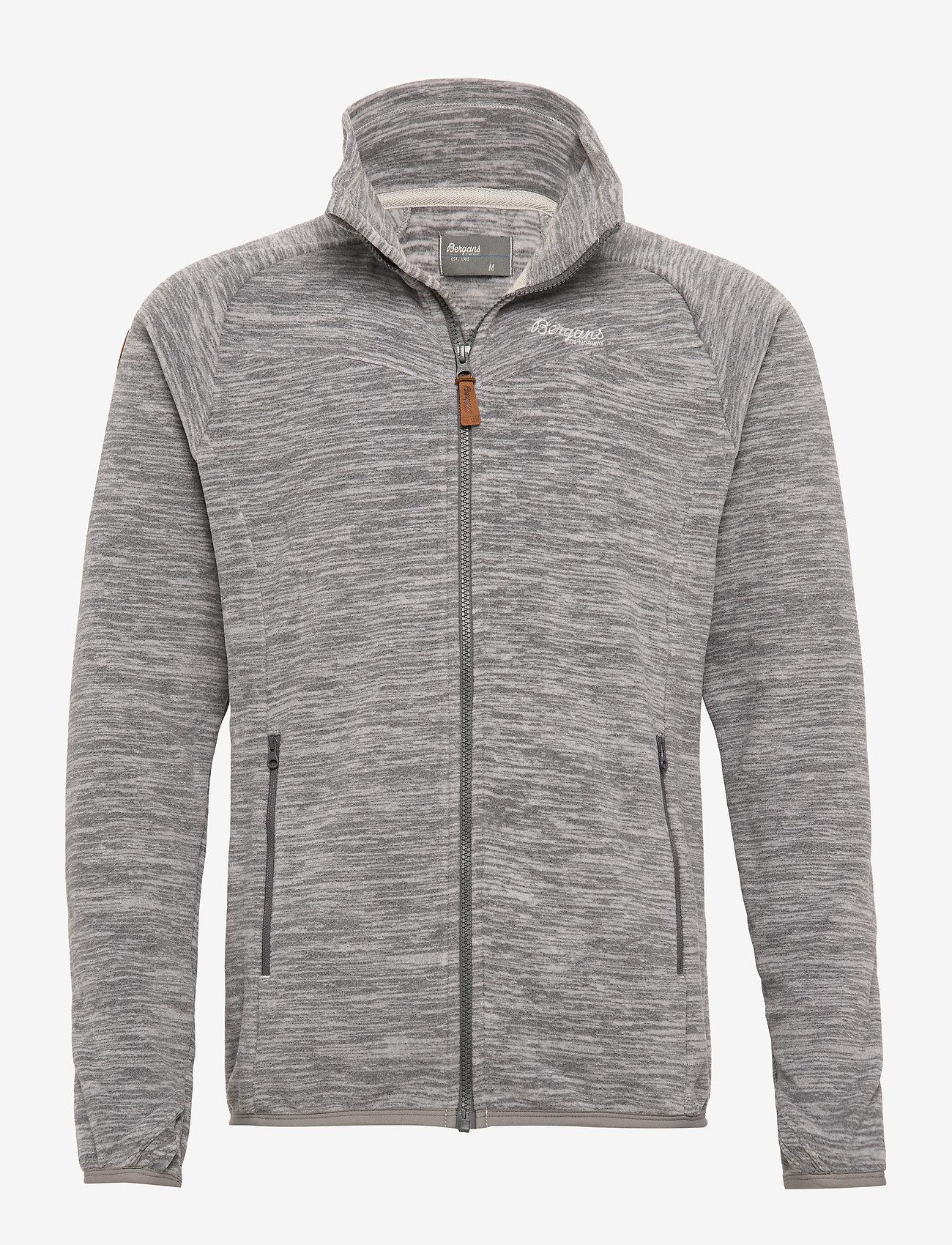Bergans Hareid Fleece Jkt Nohood   Sweatshirts   Boozt.com