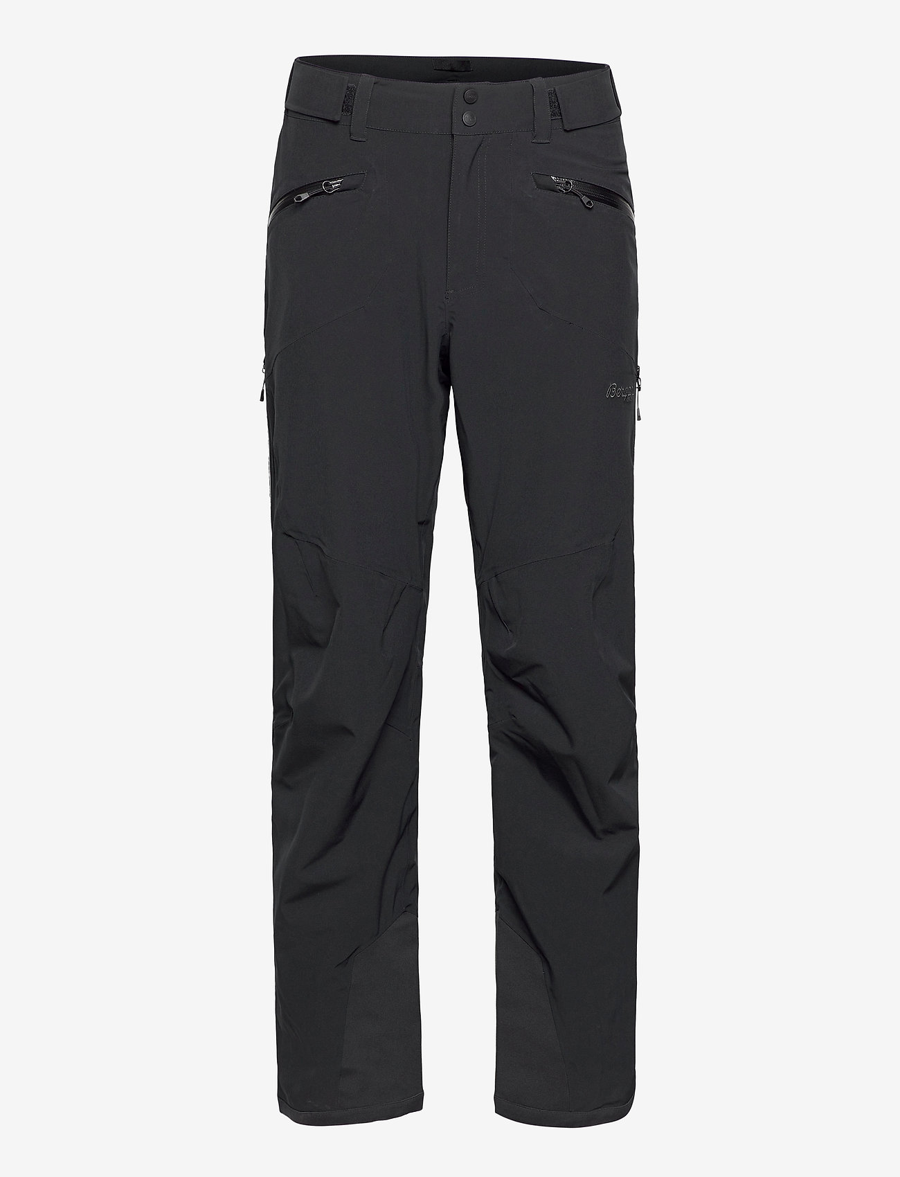 Bergans - Oppdal Pnt - skiing pants - black / solid charcoal - 0
