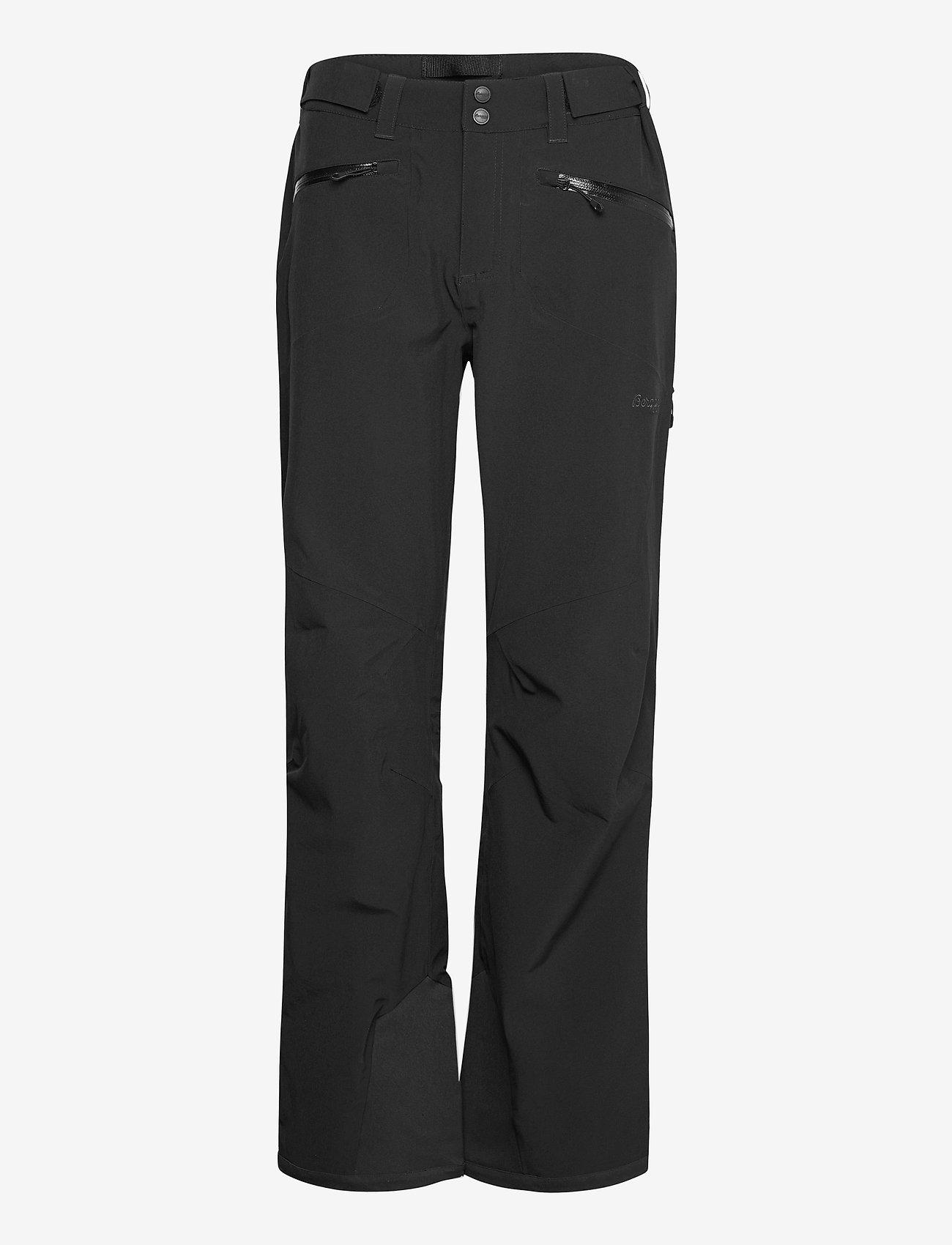 Bergans - Oppdal Lady Pnt - skibroeken - black / solid charcoal - 0