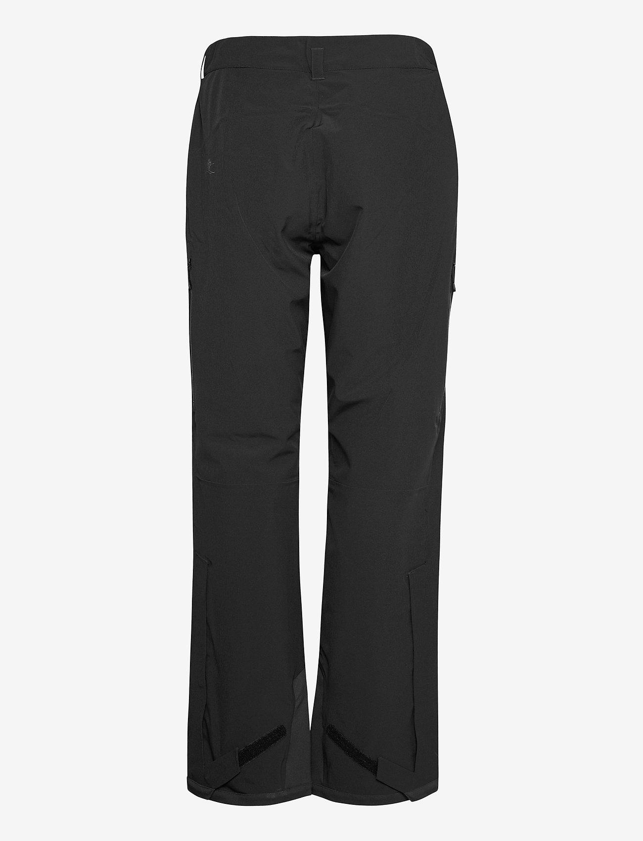 Bergans - Oppdal Lady Pnt - skibroeken - black / solid charcoal - 1
