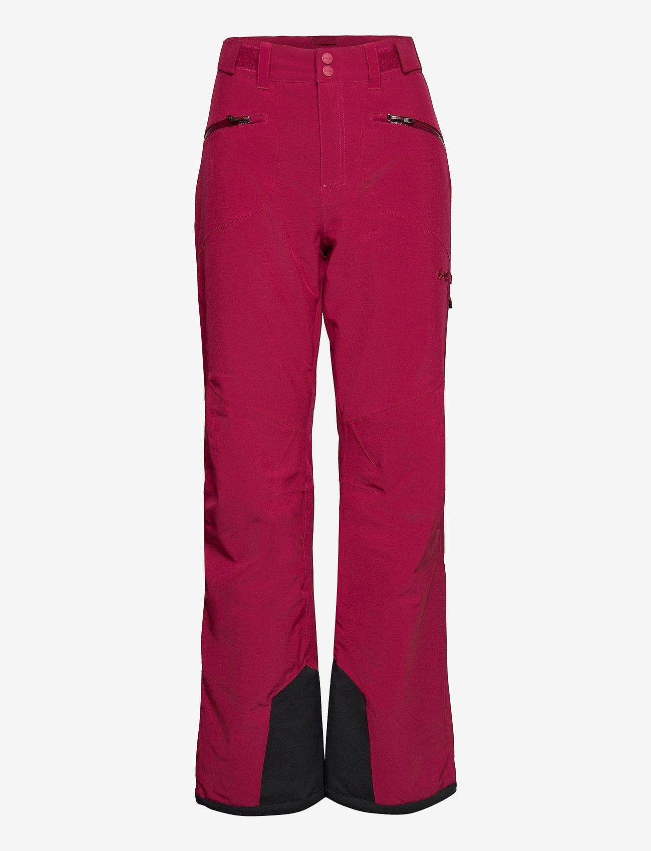 Bergans - Oppdal Insulated Lady Pnt - skibroeken - beetred - 0