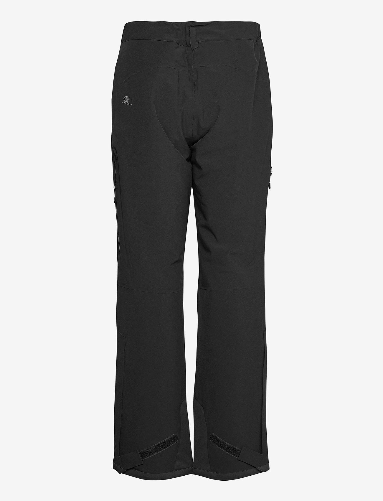 Bergans - Oppdal Insulated Lady Pnt - skibroeken - black / solid charcoal - 1