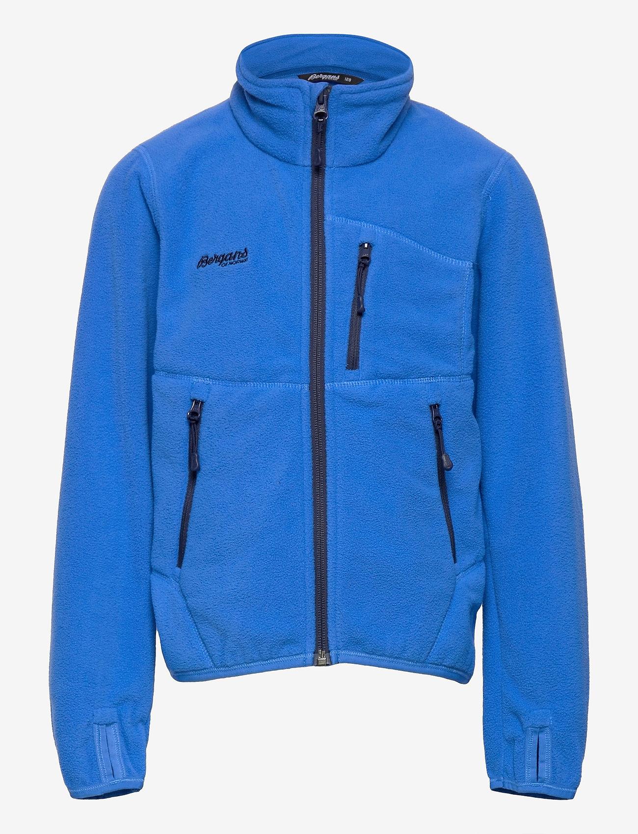 Bergans - Runde Youth Jkt - isolerede jakker - strong blue / navy - 0