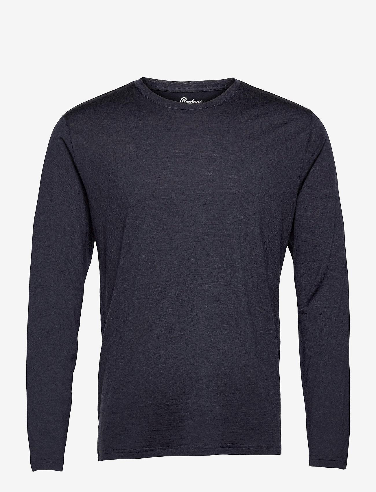 Bergans - Oslo Wool Long Sleeve - top met lange mouwen - dark navy - 0