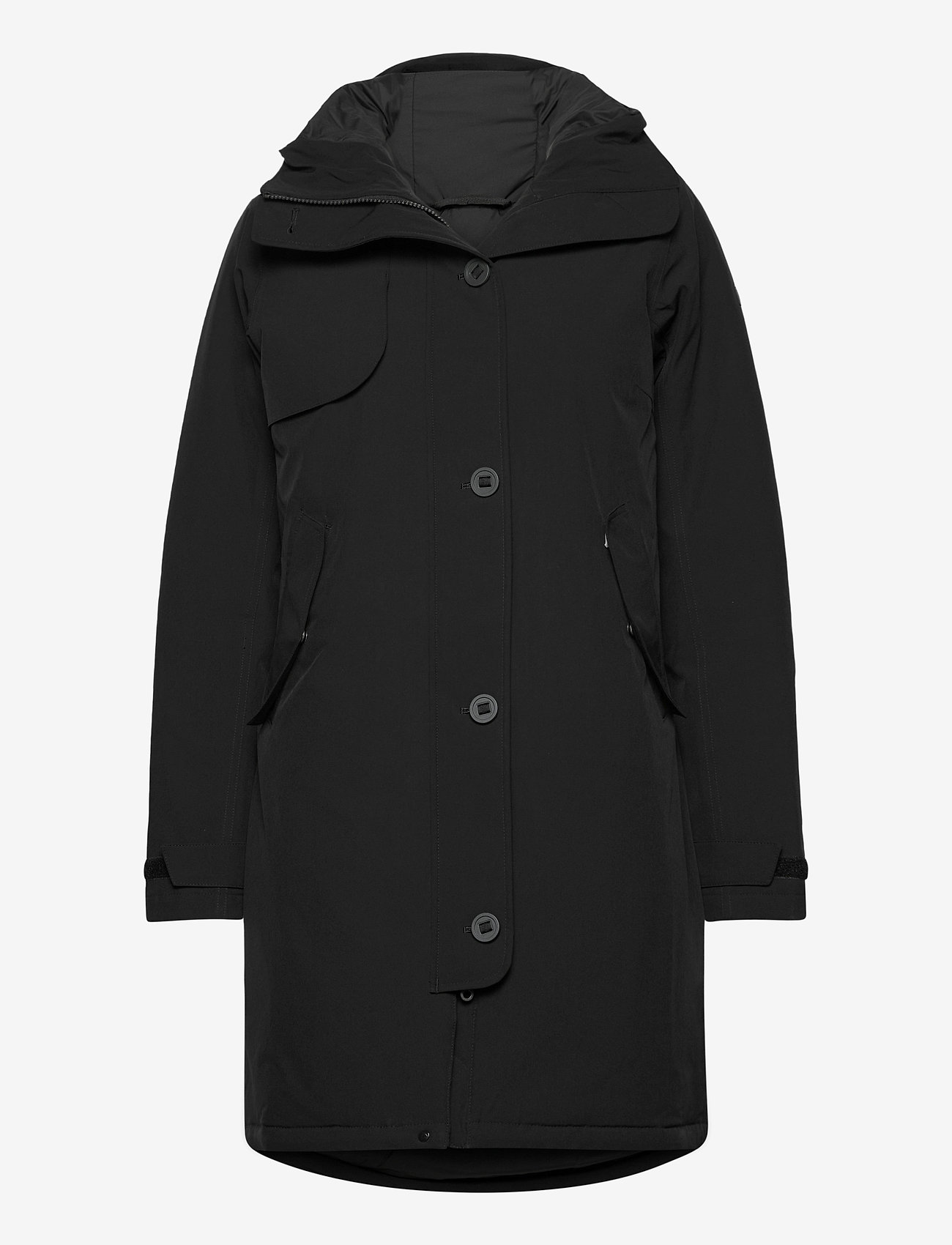 Bergans - Oslo Down W Parka - down jackets - black - 0