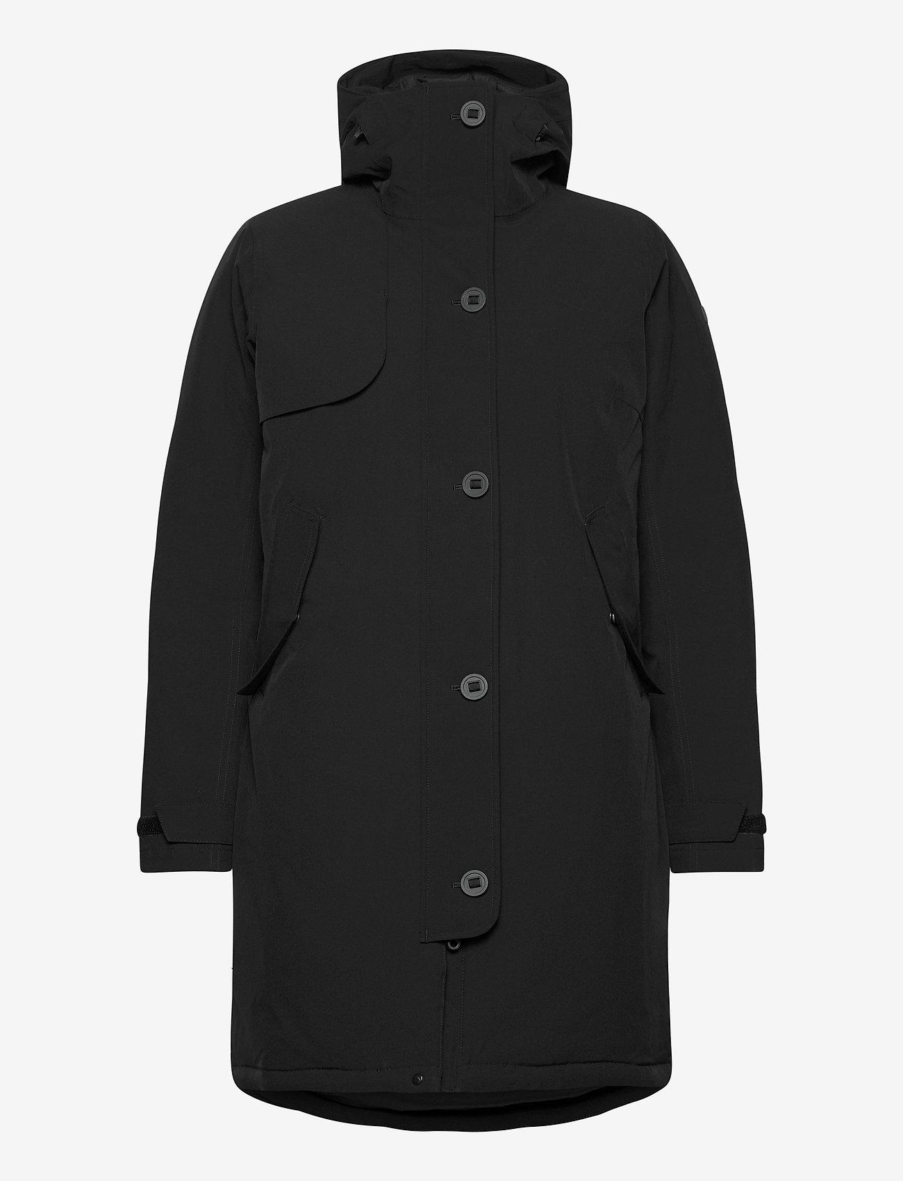 Bergans - Oslo Down W Parka - down jackets - black - 1