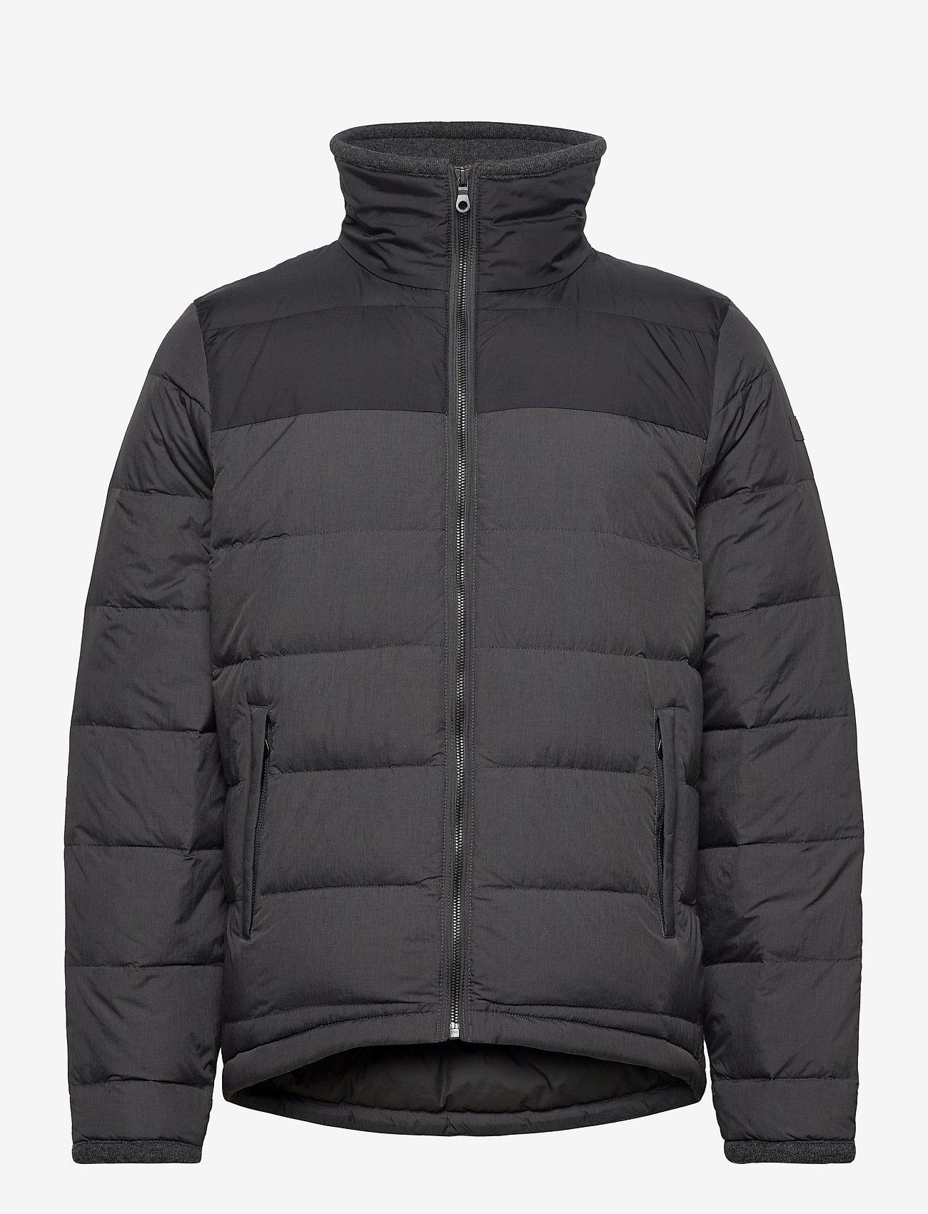 Bergans - Oslo Down Light Jkt - sports jackets - solidcharcoal/black - 1