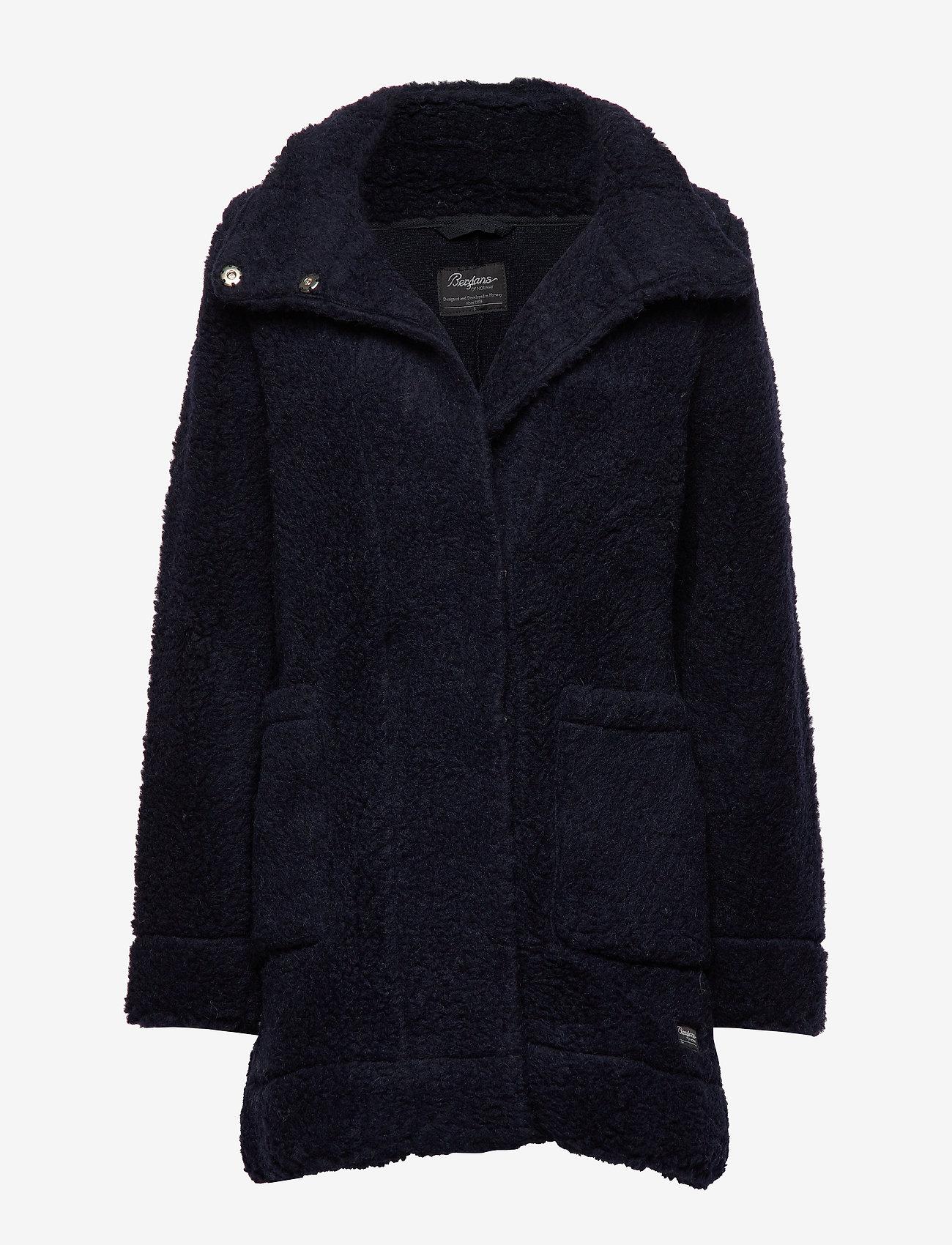 Bergans - Oslo Wool LooseFit W Jkt - wool jackets - dk navy - 0