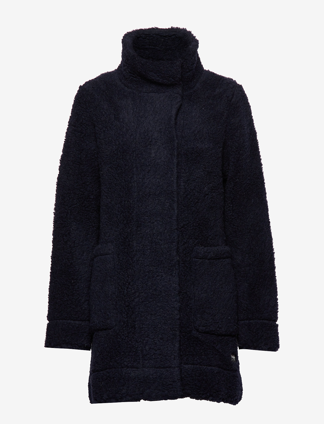 Bergans - Oslo Wool LooseFit W Jkt - wool jackets - dk navy - 1