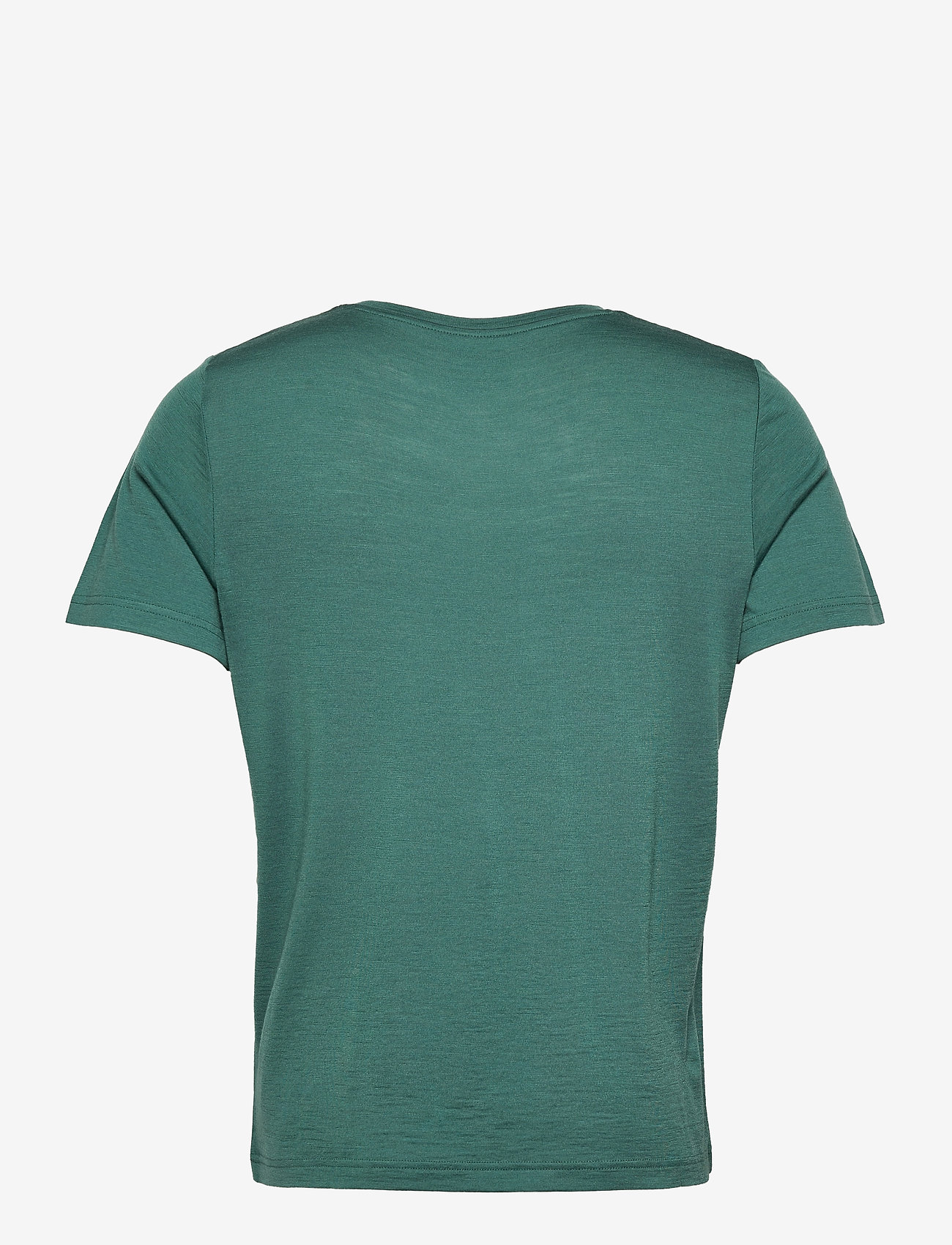 Bergans - Oslo Wool Tee - t-shirts - forest frost - 1