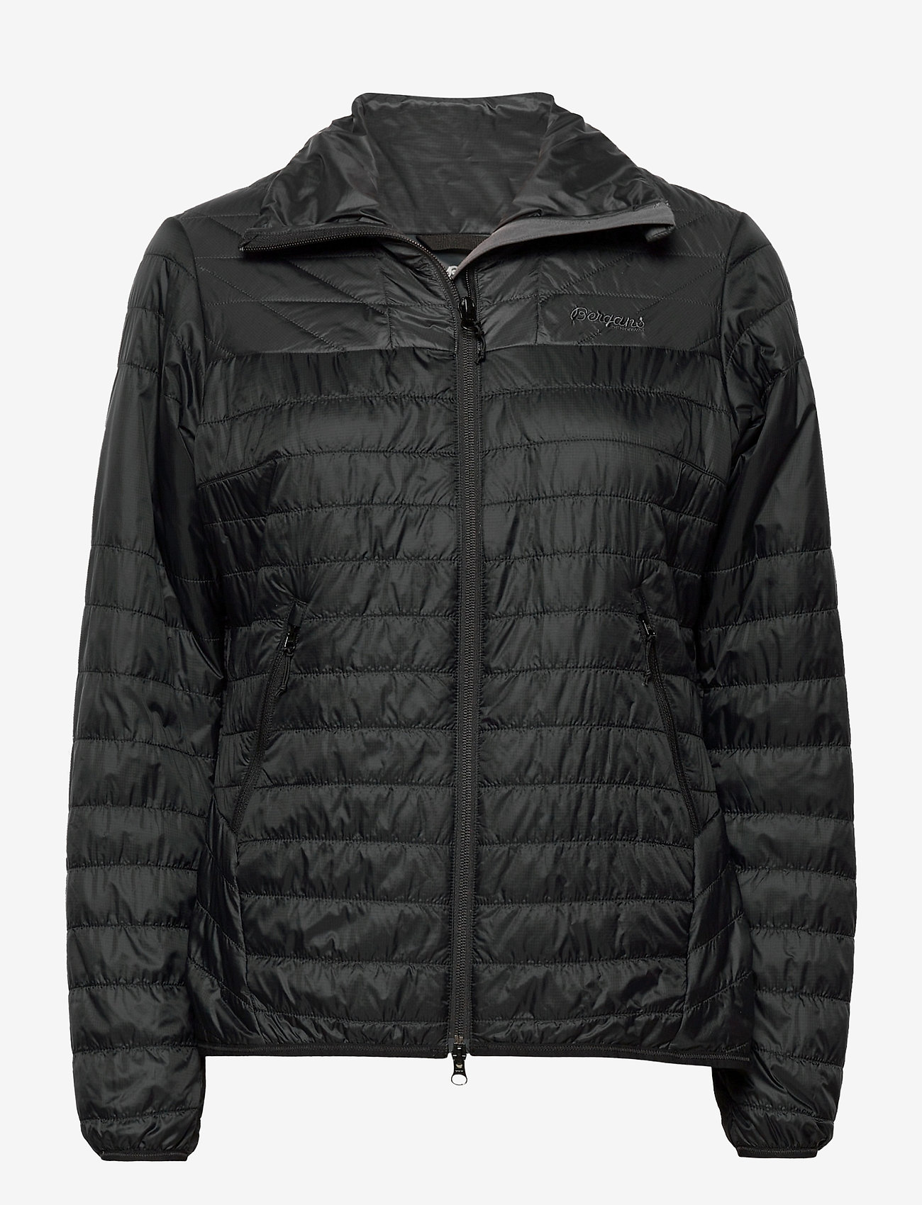 Bergans - Rros Light Insulated W Jkt - wandel- en regenjassen - black / solid charcoal - 0