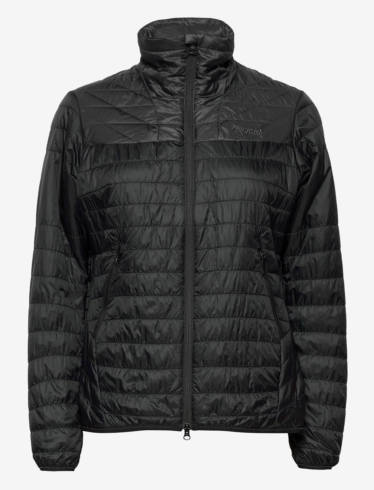 Bergans - Rros Light Insulated W Jkt - wandel- en regenjassen - black / solid charcoal - 1