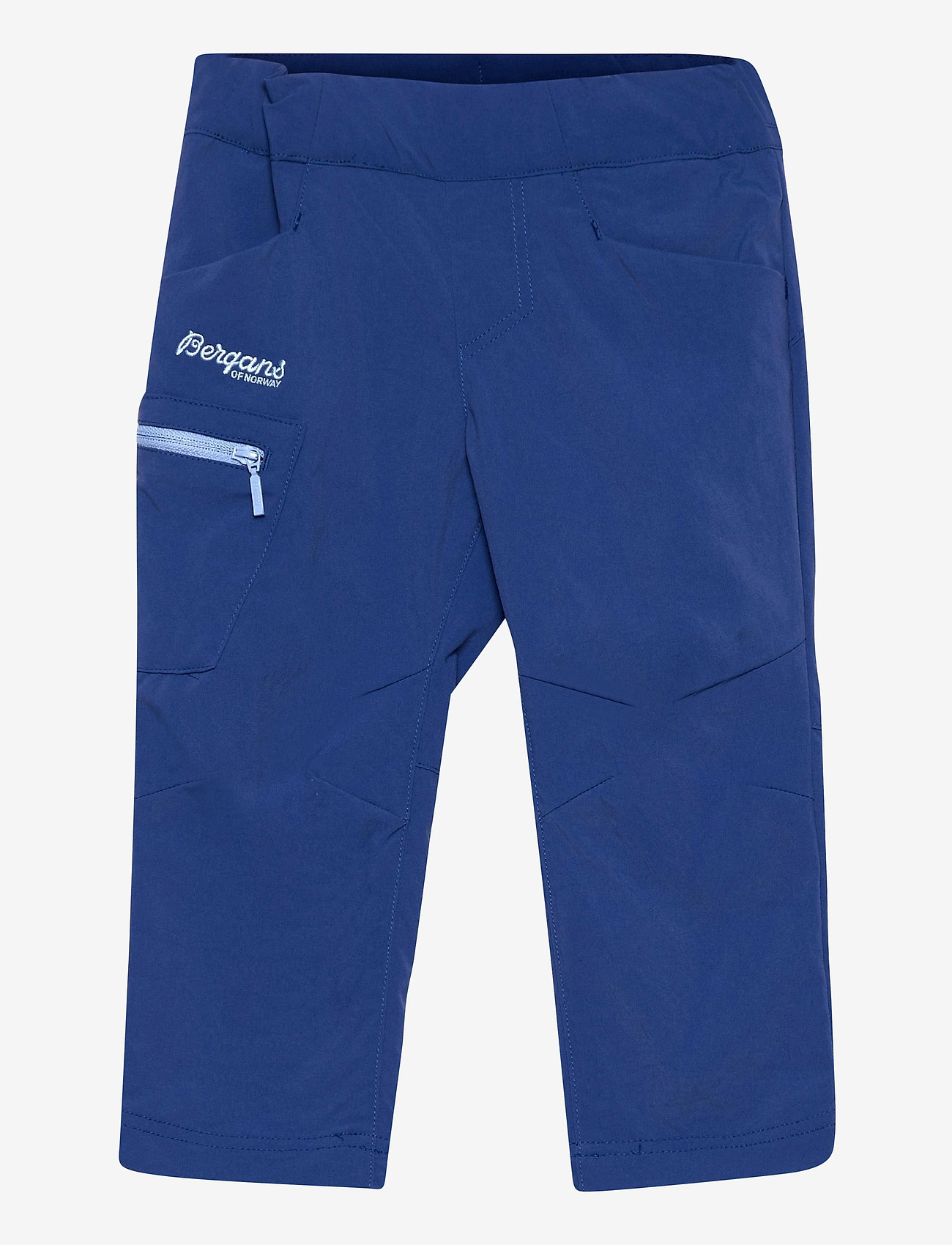 Bergans - Lilletind V2 Light Softshell Kids Pants - broeken - dark riviera blue/sailor blue - 0