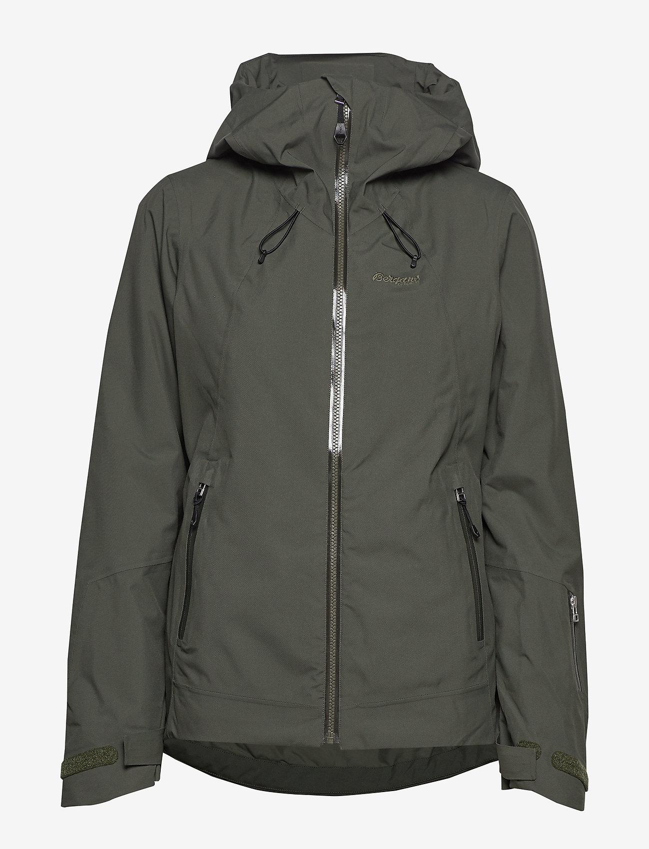 Bergans - Stranda Ins Hybrid W Jkt - insulated jackets - seaweed/khakigreen - 1
