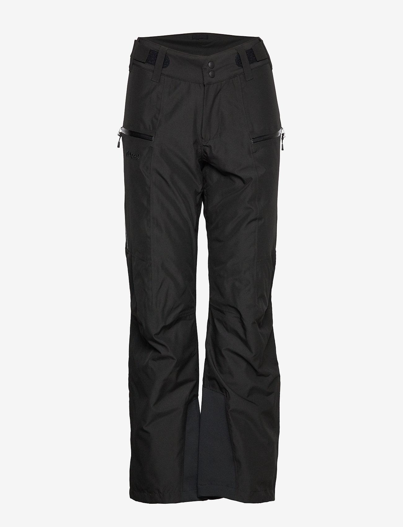 Bergans - Stranda Ins W Pnt - insulated pants - black/solidcharcoal - 0