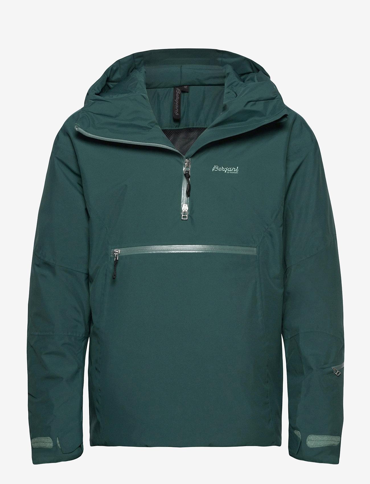 Bergans - Stranda Ins Hybrid Anorak - sports jackets - forestfrost - 0