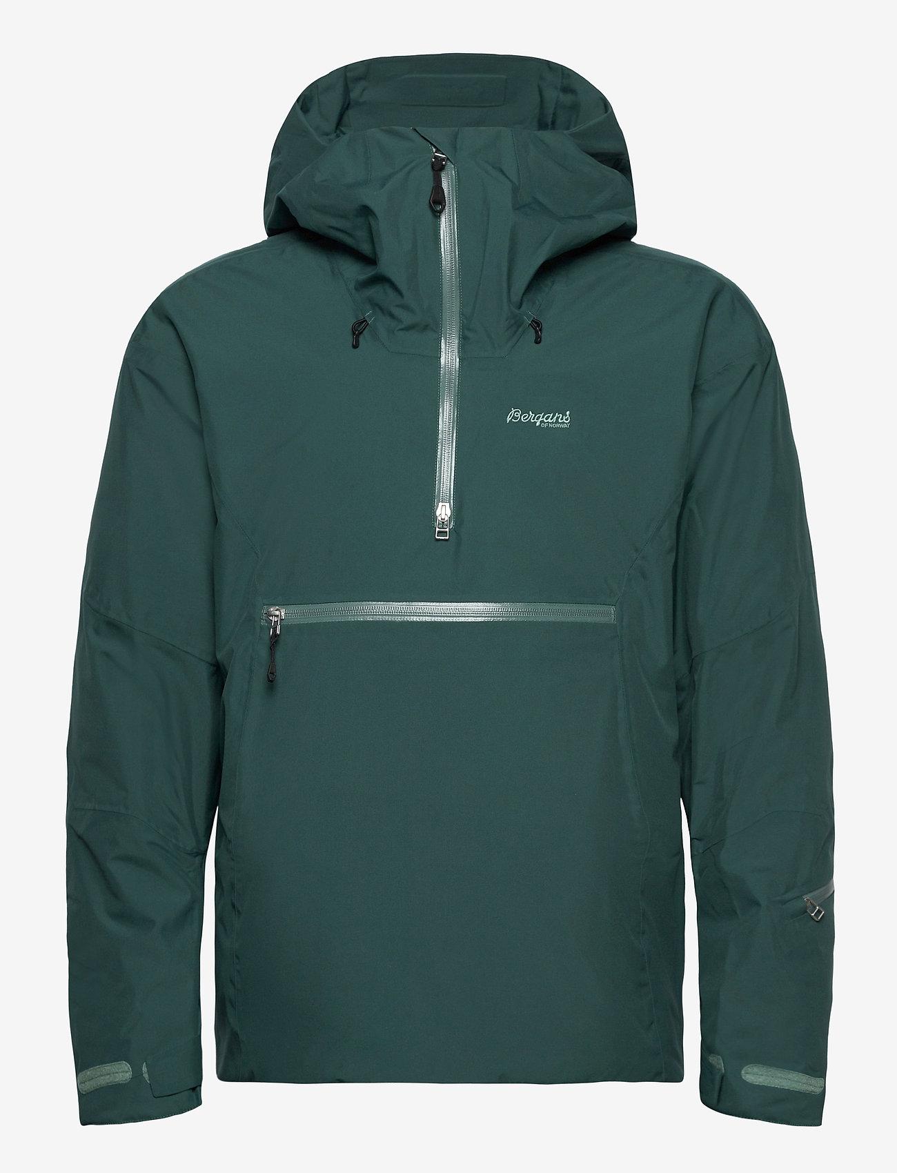 Bergans - Stranda Ins Hybrid Anorak - sports jackets - forestfrost - 1