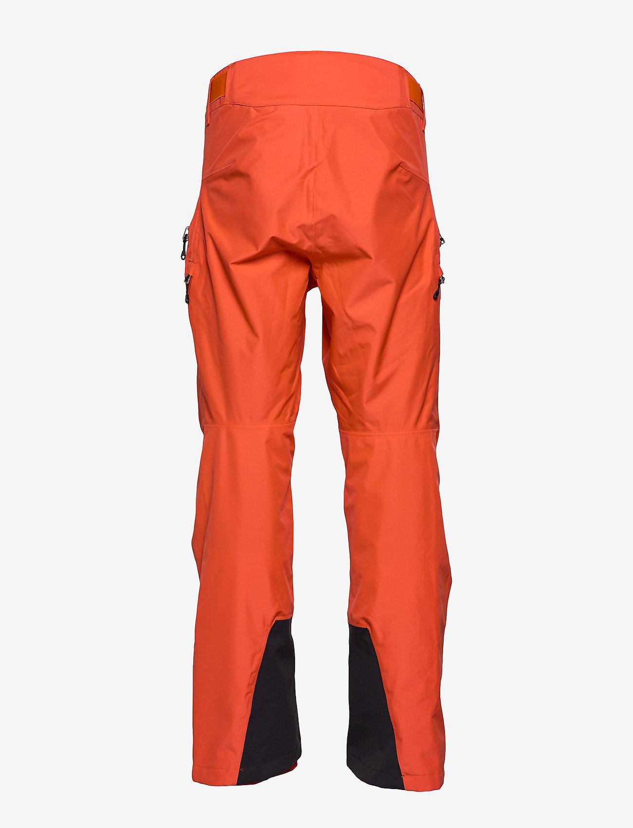 Bergans - Stranda 2L Pnt - shell pants - lava/br magma - 1