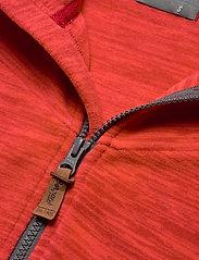 Bergans - Hareid Fleece W Jkt - fleece midlayer - red mel/soliddkgrey - 3