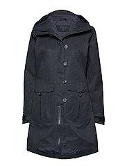 Bjerke Lady Coat - DK NAVY