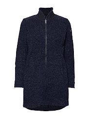 Bergans - Oslo 3in1 W Coat - 3-in-1 jackets - outer:dk navy mel/inner:dk navy mel - 0