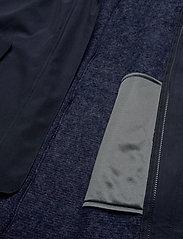Bergans - Oslo 3in1 W Coat - wandel- en regenjassen - outer:dk navy mel/inner:dk navy mel - 10