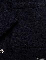 Bergans - Oslo Wool LooseFit W Jkt - wool jackets - dk navy - 4