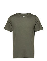 Oslo Wool Tee - GREENMUD