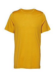 Oslo Wool Tee - MUSTARD YELLOW