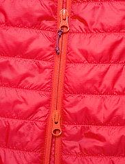 Bergans - Rros Light Insulated W Jkt - wandel- en regenjassen - lt dahliared/beetred - 4